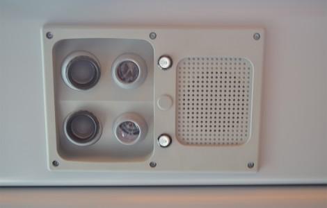 Passenger Lighting and Speakers