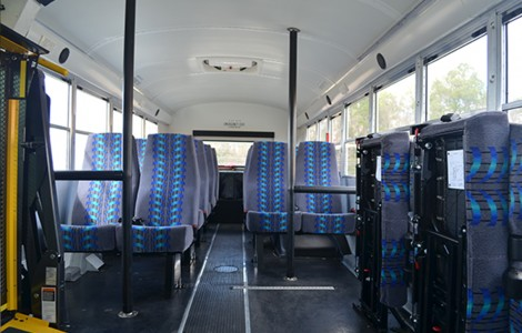 Passenger Seating Options